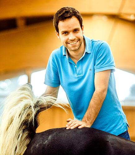 Das Kreuzdarmbeingelenk beim Pferd ist als Pferdeosteopath von zentraler Bedeutung, besonders beim Beckenschiefstand